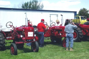 Antique Tractor Display
